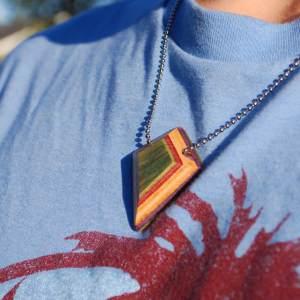 Shield Pendant Necklace