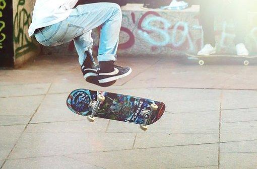 big flip, skateboard, bigflip, big spin kickflip