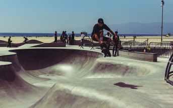 nosegrab, skateboard, trick