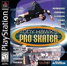 tony hawk, pro skater, video game, playstation, skateboarding