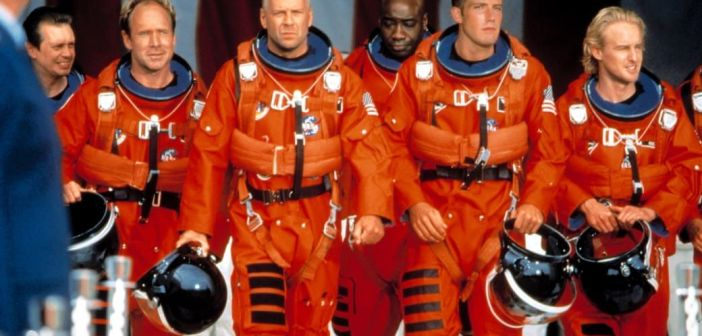 armageddon, movie, 1998, review, disaster, film
