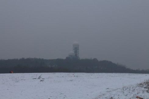 Teufelsberg Spy Station from the Drachenberg