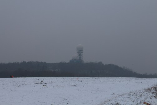 Teufelsberg Spy Station from the Drachenberg
