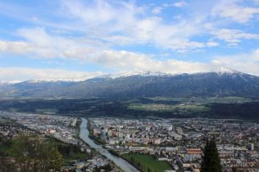 View of Innsbruck from Hungerburg