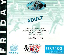 HK Rugby Sevens 1996