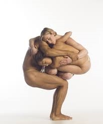 Image: Pilobolus' 'People pod'