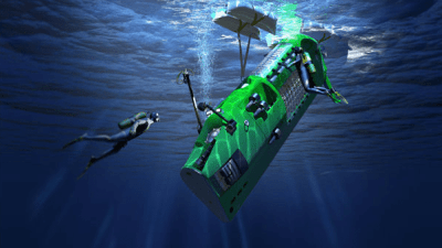 Image: Deepest Dive Submarine