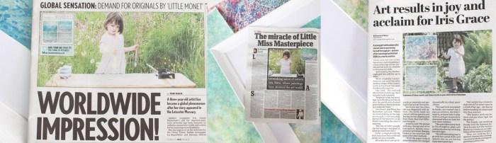 Image: Iris Grace news covers