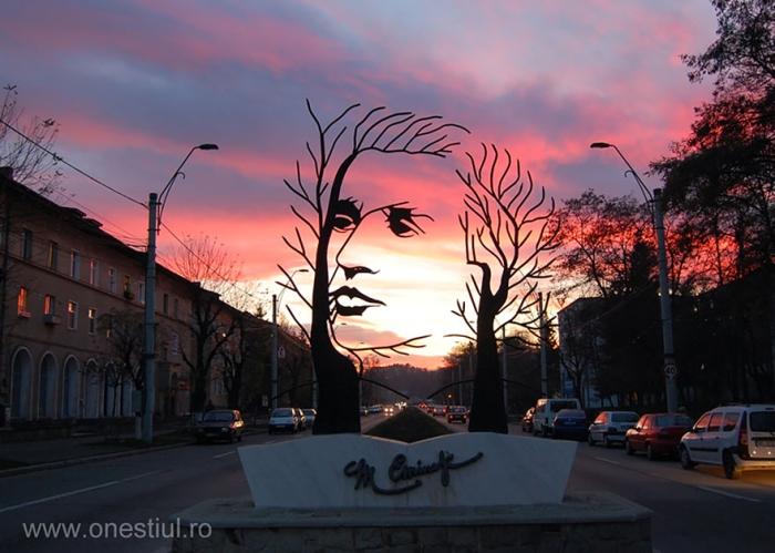 Image: Mihai Eminescu, Onesti, Romania