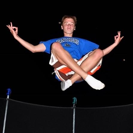 Trampoline levitation