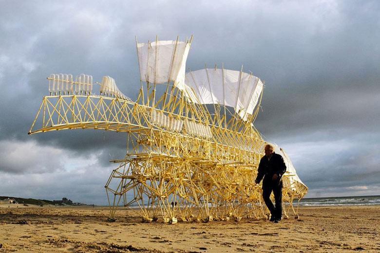 Image: Theo Jansen's Strandbeests
