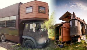 Image: Castle Truck house inside