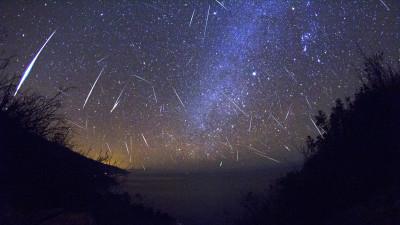 Image: Meteor shower