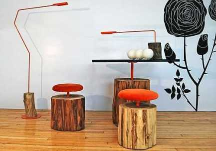 Image: hand made light fixtures