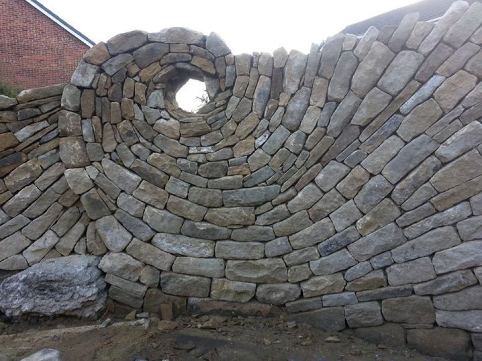 Image: dry wall spiral