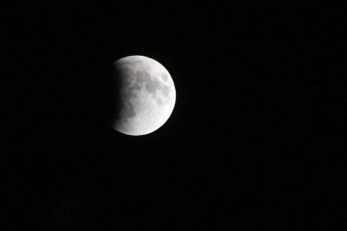 Image: start of eclipse