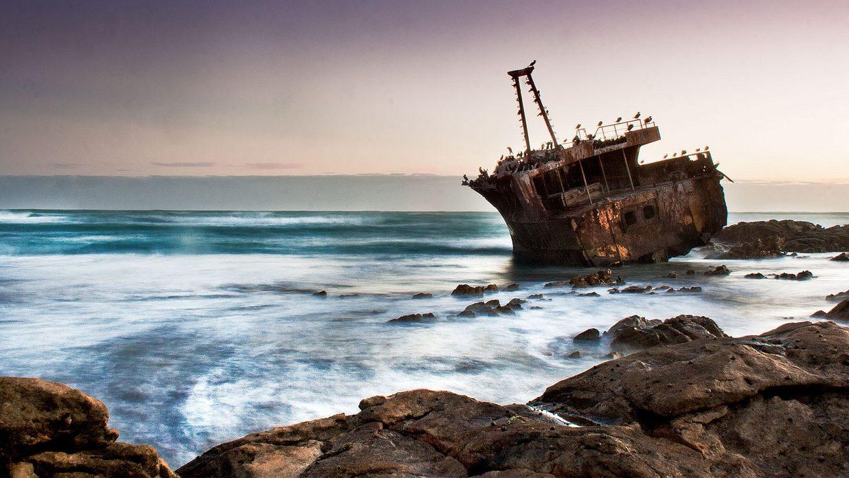 Image: A shipwreck