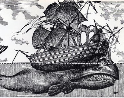 Image: Engraving of the Whale Ship Essex