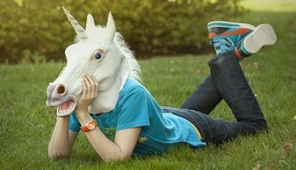 Image: Shawn Anchor's Unicorn on Happiness