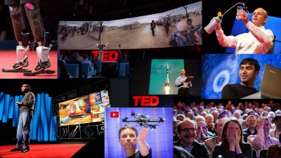 Image: TED talk collage