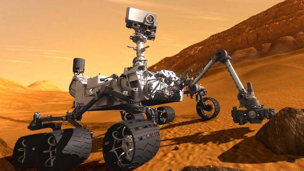 Image: Curiosity driven Science has led us to mars