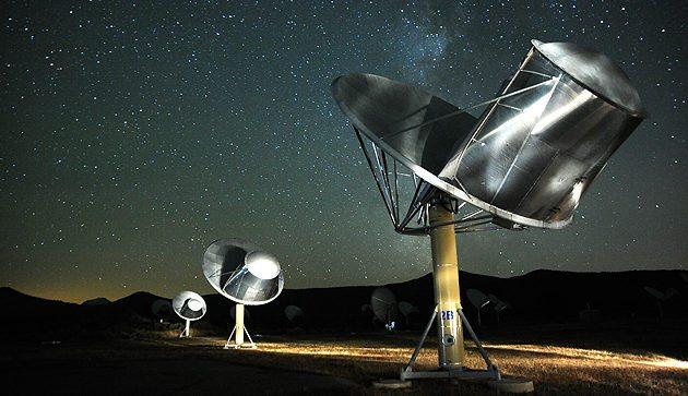 Image: Radio Array of Telescopes at SETI