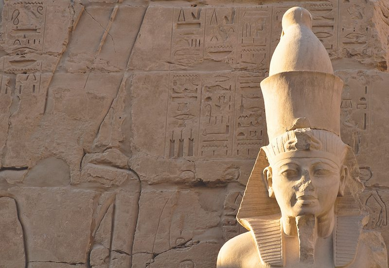 Image: A statue built by Hetshepsut