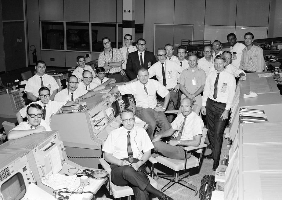 Image: Apollo 7 Mission Control Center
