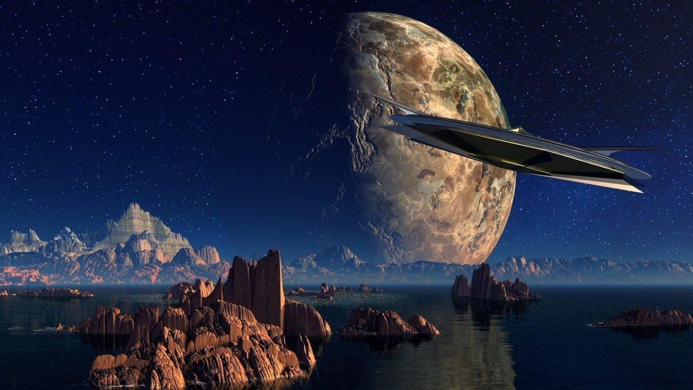 Image: Cloud cities on an alien landscape