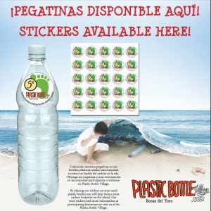Image: Public Relations Material of the stickers produced in Panama