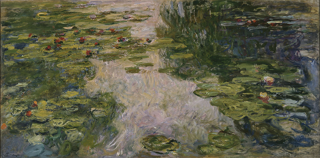 Image: Water Lilies by Claude Monet