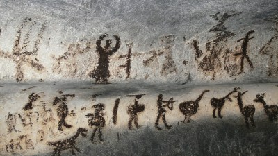 Image: cave drawings