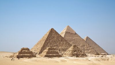 Image: 6 Ancient Giza Pyramids of Egypt