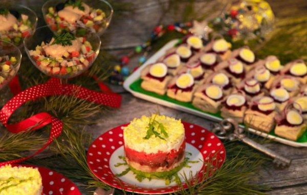 Самые вкусные салаты на Новый год 2021 – рецепты с фото ...
