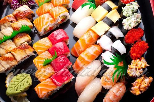 Үйде орам және суши толтыру: 15 түрі