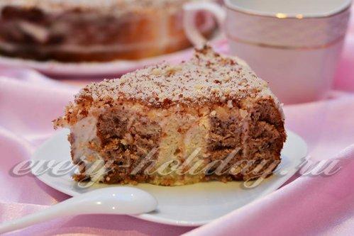 "Торт ""Зебра"": рецепт с пошаговыми фото"