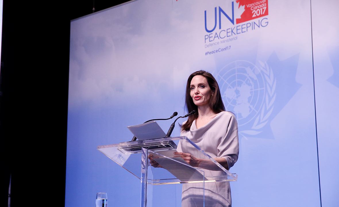 Angelina Jolie Says 3 Myths Fuel Sexual Violence