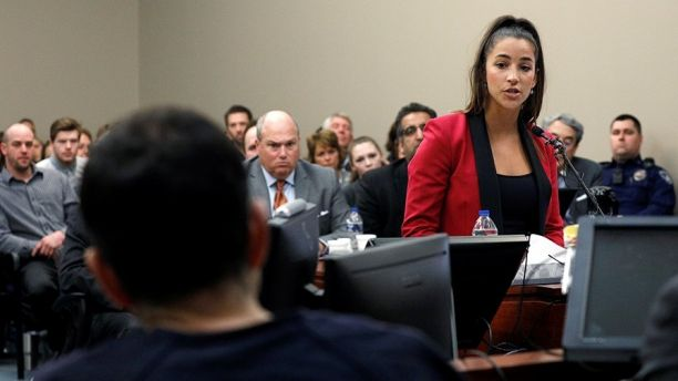 Watch Olympic Gold Medalist Aly Raisman's Powerful Speech In Court To Predator Larry Nassar