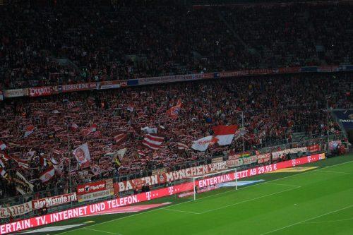 bayern munich fans 500x333 - Attending a Bayern Munich match at Allianz Arena