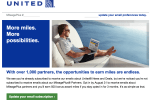 united free miles e mail - Get 500 United miles for signing up for e-mails