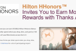 thanks again hilton - Get a quick free 200 Hilton HHonors points