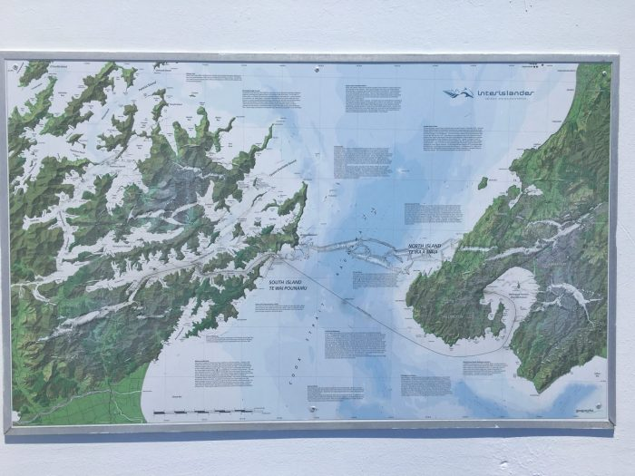 picton to wellington ferry map 700x525 - Nelson to Wellington, New Zealand by bus and ferry via Picton
