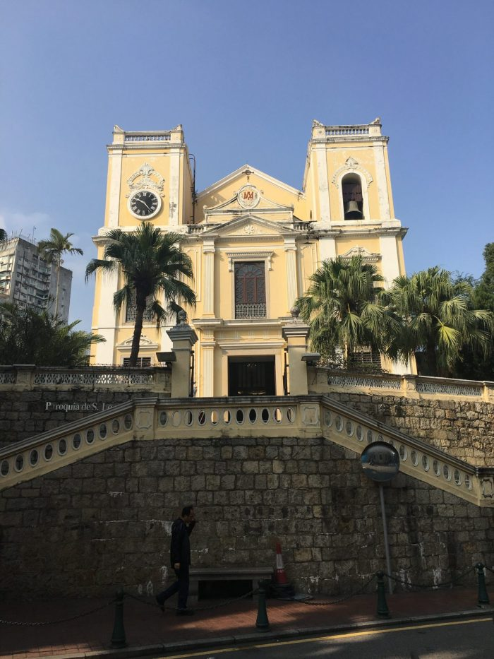 historic center of macau 700x933 - A day trip to Macau from Hong Kong