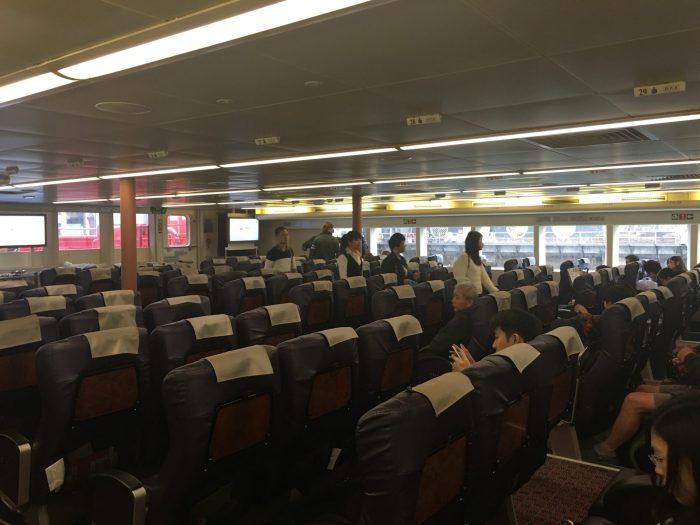 hong kong macau ferry 700x525 - A day trip to Macau from Hong Kong