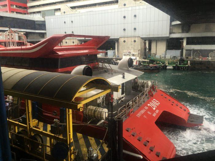 hong kong to macau ferry 700x525 - A day trip to Macau from Hong Kong