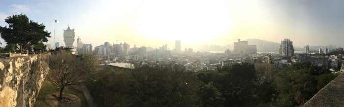 monte fort panorama 700x218 - A day trip to Macau from Hong Kong