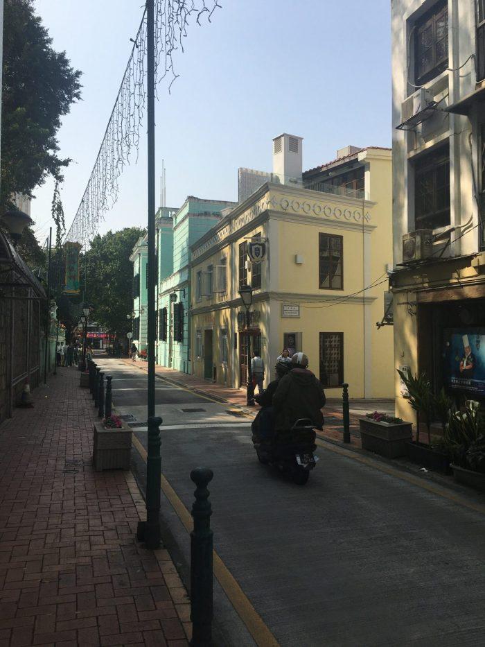 old taipa macau 700x933 - A day trip to Macau from Hong Kong