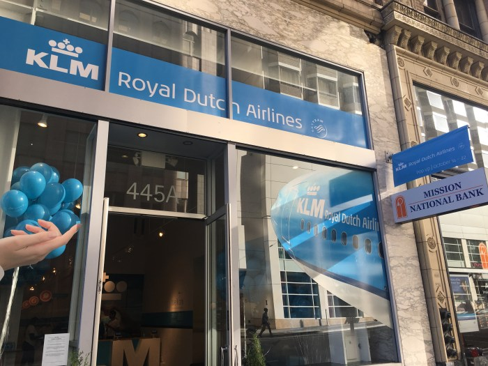 klm popup san francisco 700x525 - A visit to the KLM pop-up in San Francisco