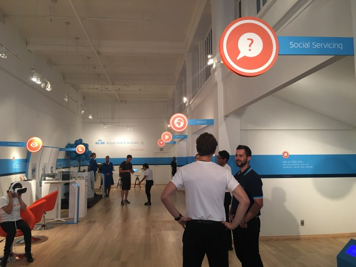 klm popup 700x525 - A visit to the KLM pop-up in San Francisco