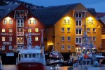 tromso waterfront - Travel Tip: Don't try to get over jet lag in a dark place